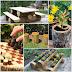 20 Πανεύκολα ξύλινα διακοσμητικά κήπων από κορμούς που μπορείτε να κάνετε τζάμπα