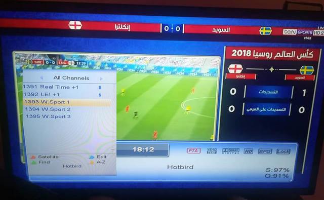 عاجل : ظهور قنوات Bein Sports Max العربية 1/2/3 مجاناا وبدون انترنت