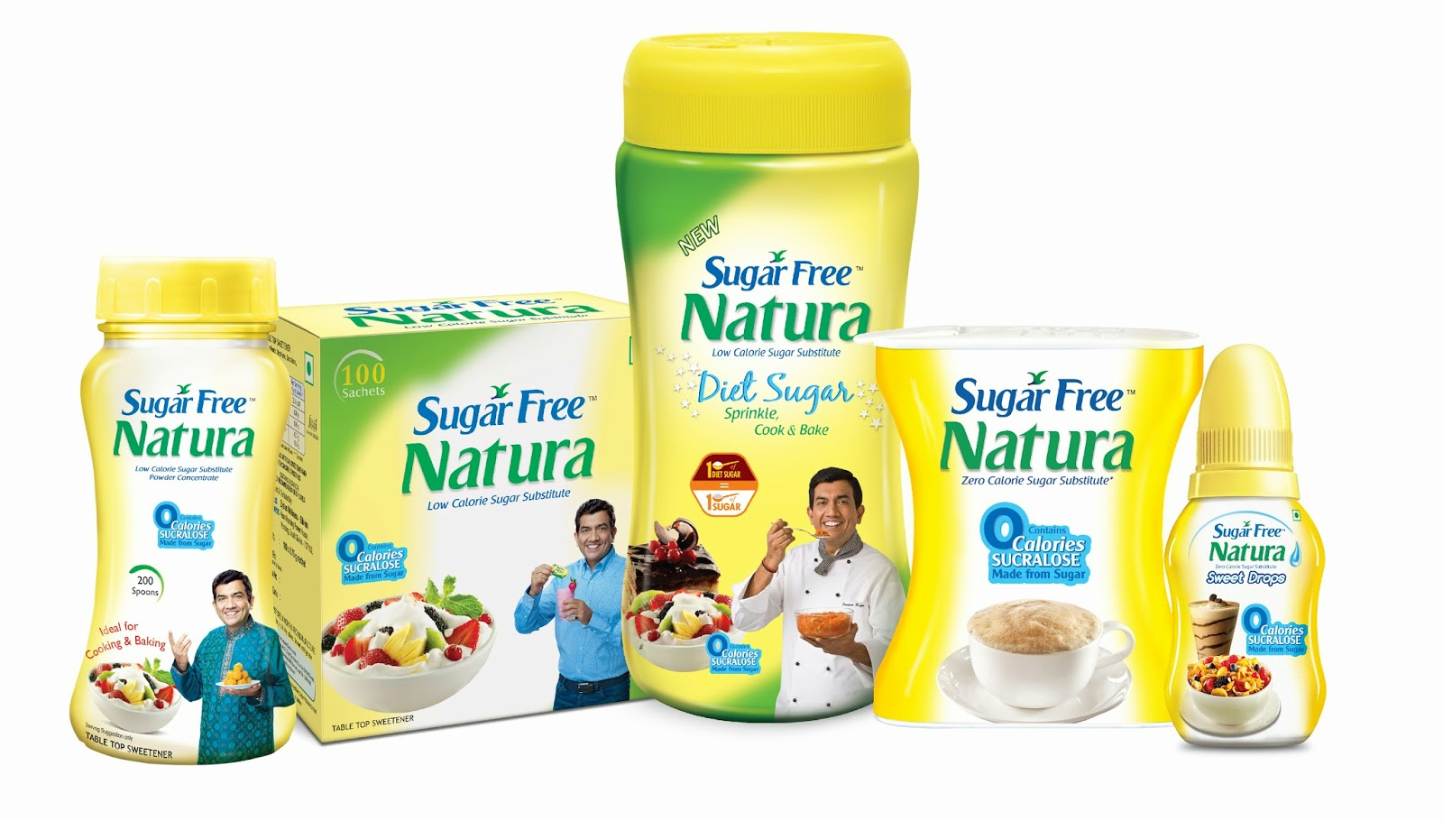 what is sugar free made up of