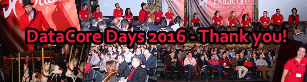 DataCore Days ; MERCI !
