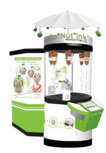 Ice cream robot from Co+Nut+ink PH