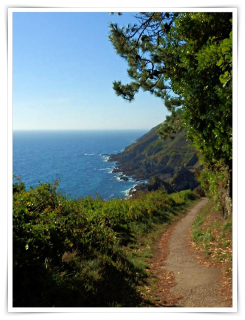 South West Coast Path near Polperro