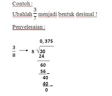 Contoh Soal Pecahan Desimal Dan Jawabannya Kelas 4 Sd Kumpulan Soal Pelajaran 8