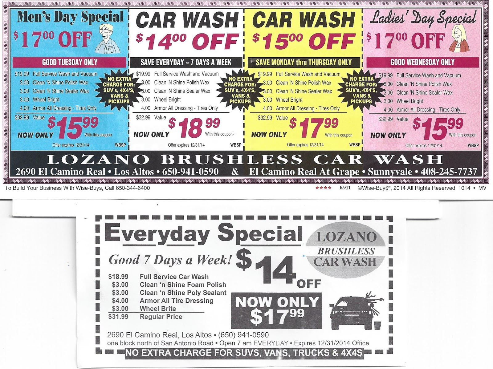 Car Wash Prices: Kirk's Market Thoughts: Inflation In Lozano's Car Wash
