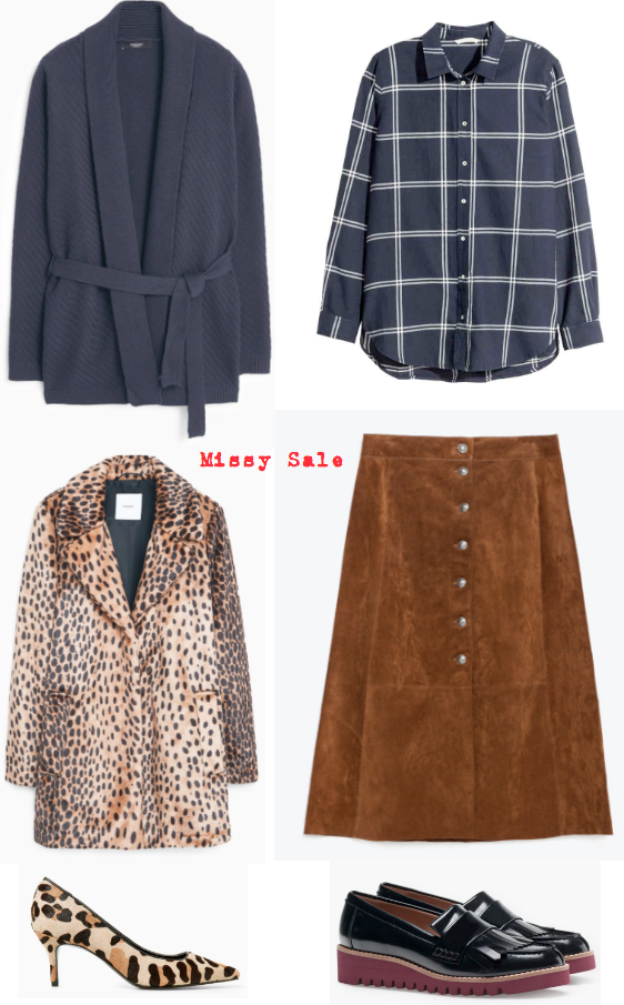 Vestir a los 50 reinterpretación de llevar falda de ante -Missy Sale-