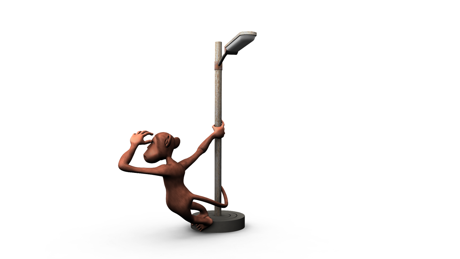 Pole 4 Passion How To Wire A 2 Way Light Switch Diagram 3d Toon Monkey With An Electric