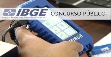 Confira detalhes Concurso IBGE - edital2018-2019