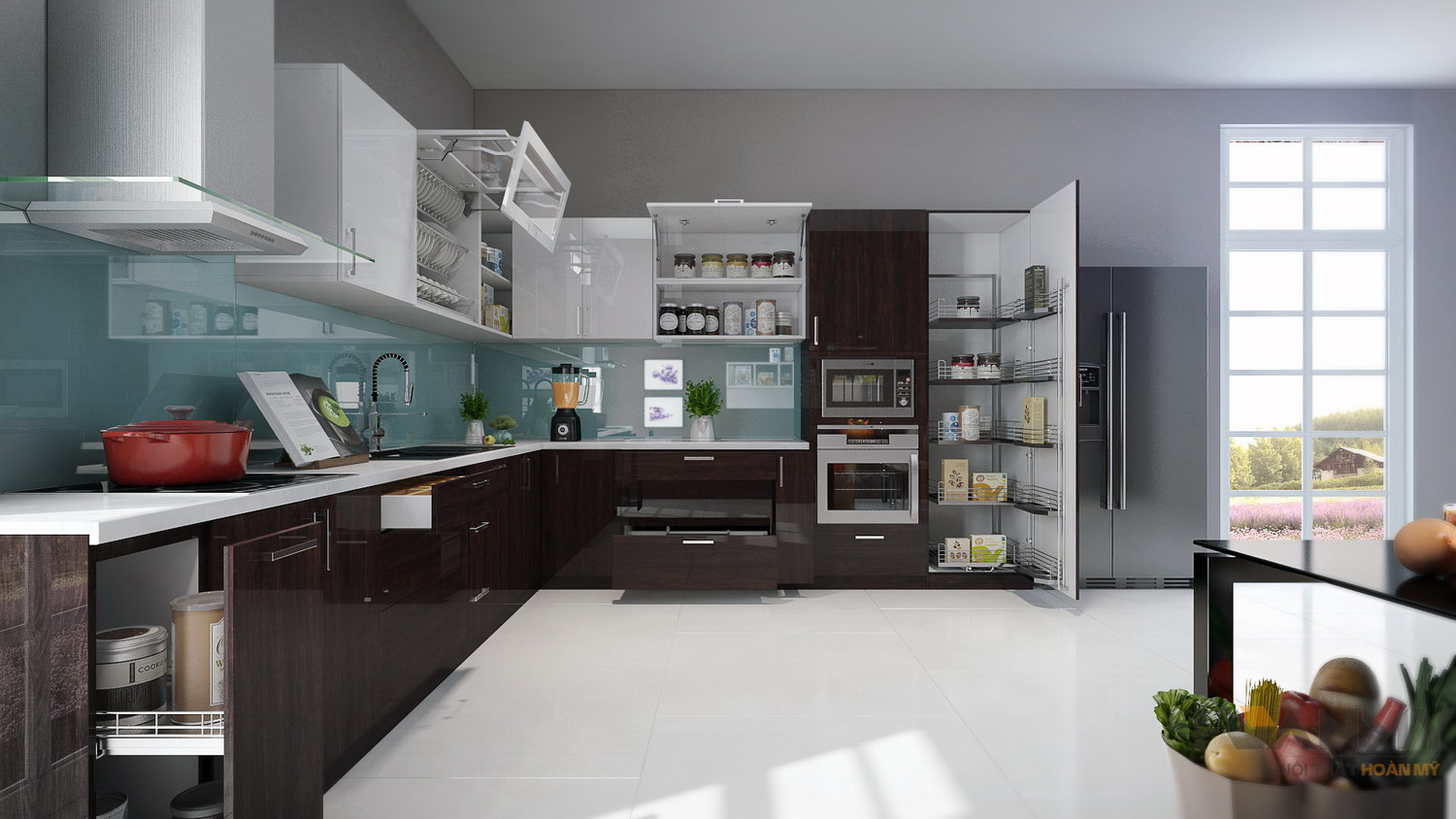 55 modern luxury kitchen design concepts help you create a for Modern luxury kitchen designs