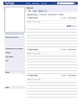 karta pracy Facebook OPIS OSOBY PRZEDSTAWIANIE SIĘ