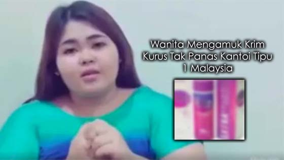 Bukti 1 Malaysia Kena Tipu Dengan Bella Nabela, Wanita Mengamuk Krim Kurus Tak Panas