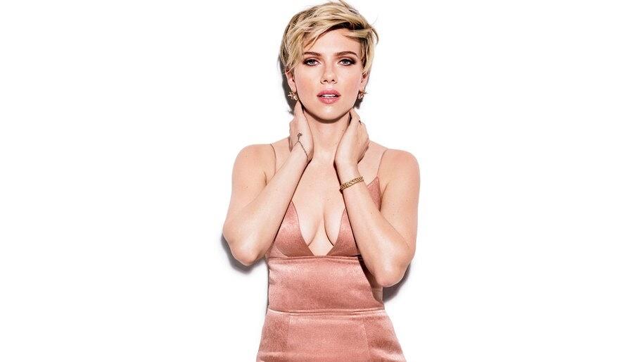 Scarlett Johansson, Short Hair, Blonde, Photoshoot, 4K, #4.908