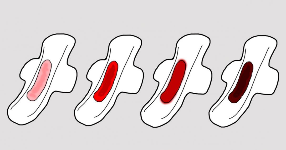 Menstruacion negra que significa