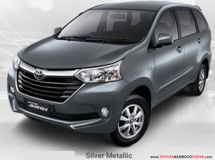 grand new avanza silver metallic toyota yaris trd matic warna paling favorit dealer mobil jogja