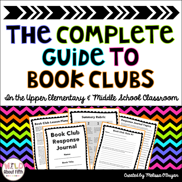 Book clubs for upper elementary and middle school classrooms
