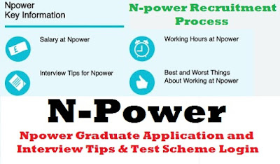 Npower Graduate Application and Interview Tips & Test Scheme Login | Recruitment Process