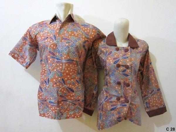 15+ Model Baju Batik Guru Modis 2019 Desain Modern  d15c1b487b