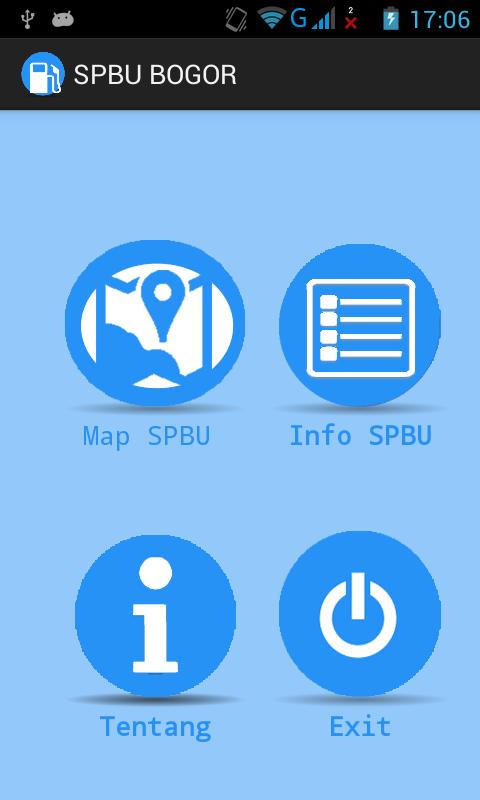 Aplikasi SPBU Bogor versi 1.0 di Android