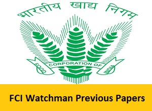 Fci Question Paper With Answers Pdf