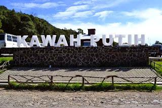 Foto DP bbm taman wisata alam Kawah Putih Indonesia