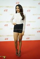 Pragya Jaiswal in lovely Black Mini Skirt and White Transparent Shirt ~  Exclusive 060.JPG