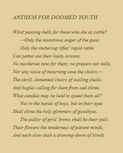Gods And Foolish Grandeur A Belated Remembrance Of Veterans
