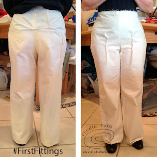 Fitting your Trouser Toile