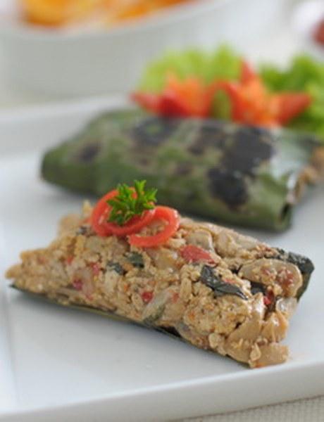 Resep Pepes Jamur Tiram : resep, pepes, jamur, tiram, Resep, Pepes, Udang, Jamur, Tiram, Dapur