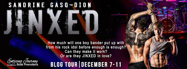 Jinxed by Sandrine Gasq-Dion : Blog Tour, Excerpts, Review and Giveaway