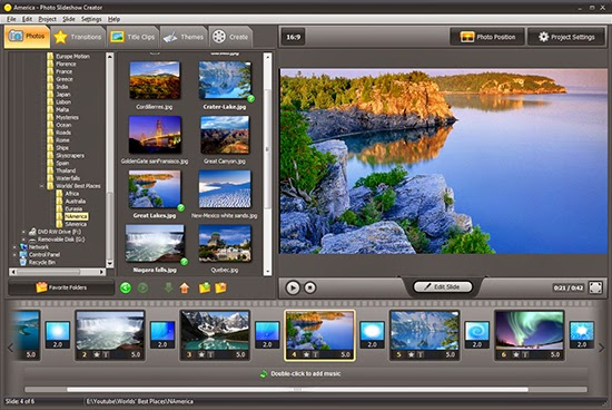 best program to create photo slideshow with music
