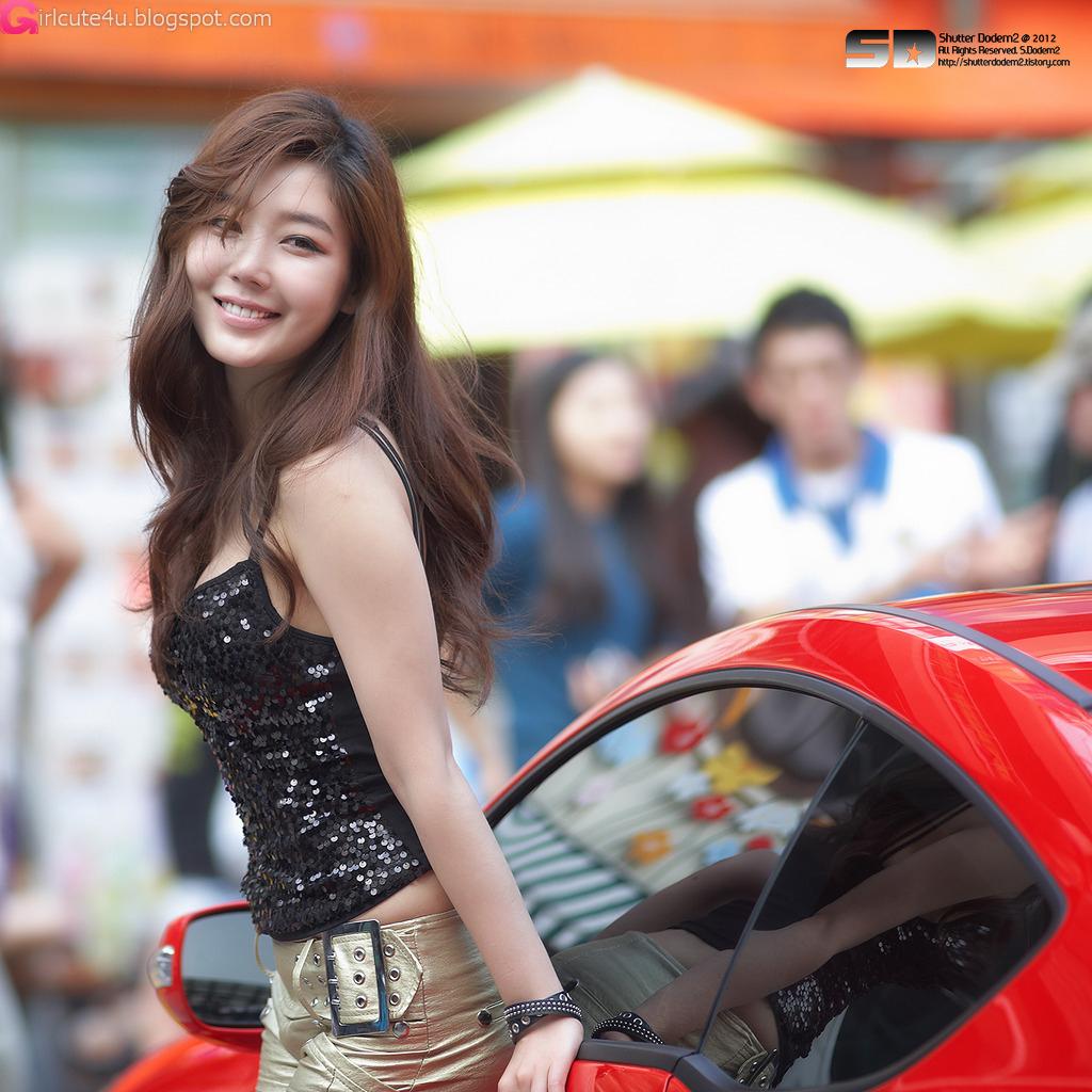 Jo Sang Hi At Hyundai Best Dress-Up Car Contest  Daily -5247