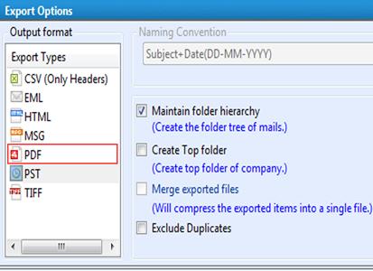 Convert Lotus Notes Email To PDF