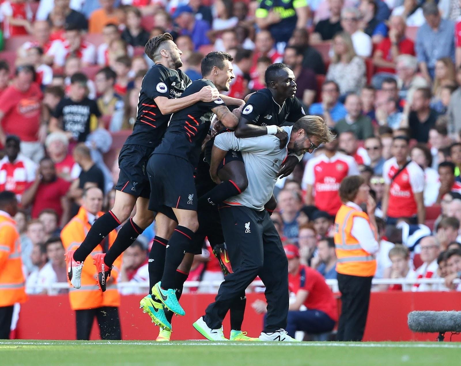 Espectacular victoria del Liverpool en el Emirates