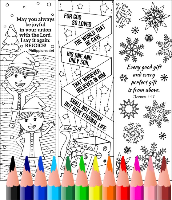 christmas coloring doodles xmas coloring bookmarks