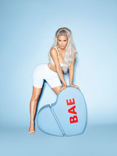 Kim Kardashian goes naked again For Bae Perfume