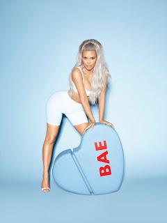 Kim Kardashian goes naked again For Bae Perfume
