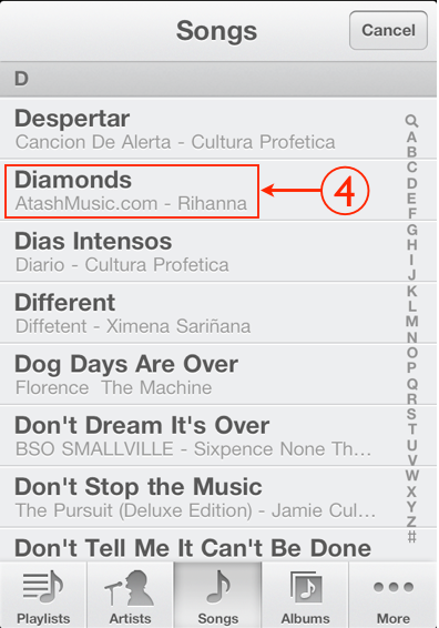 Cómo hacer para colocar una canción de tono en el iPhone 2