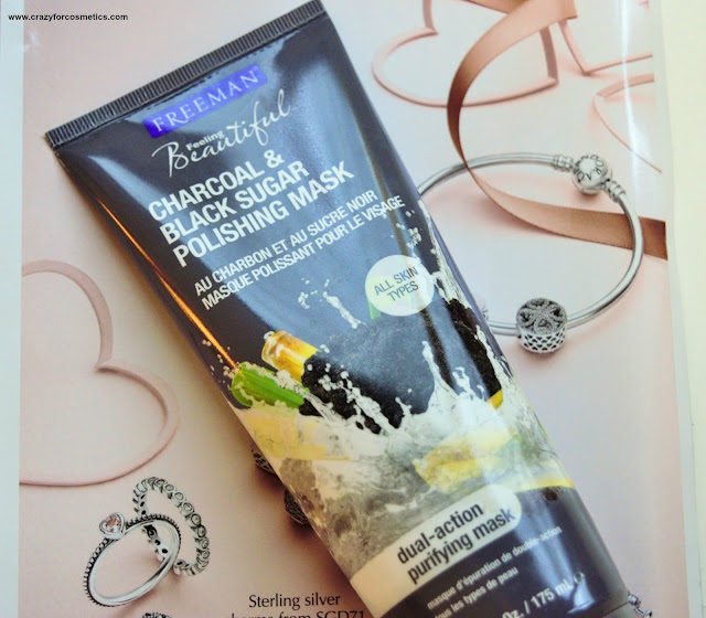 Freeman Charcoal & Black Sugar Facial Polishing Mask