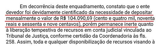 Prefeitura de Chapadinha não está pagando os precatórios em atraso