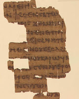 Nag Hammadi manuscript Dialogue of the Savior