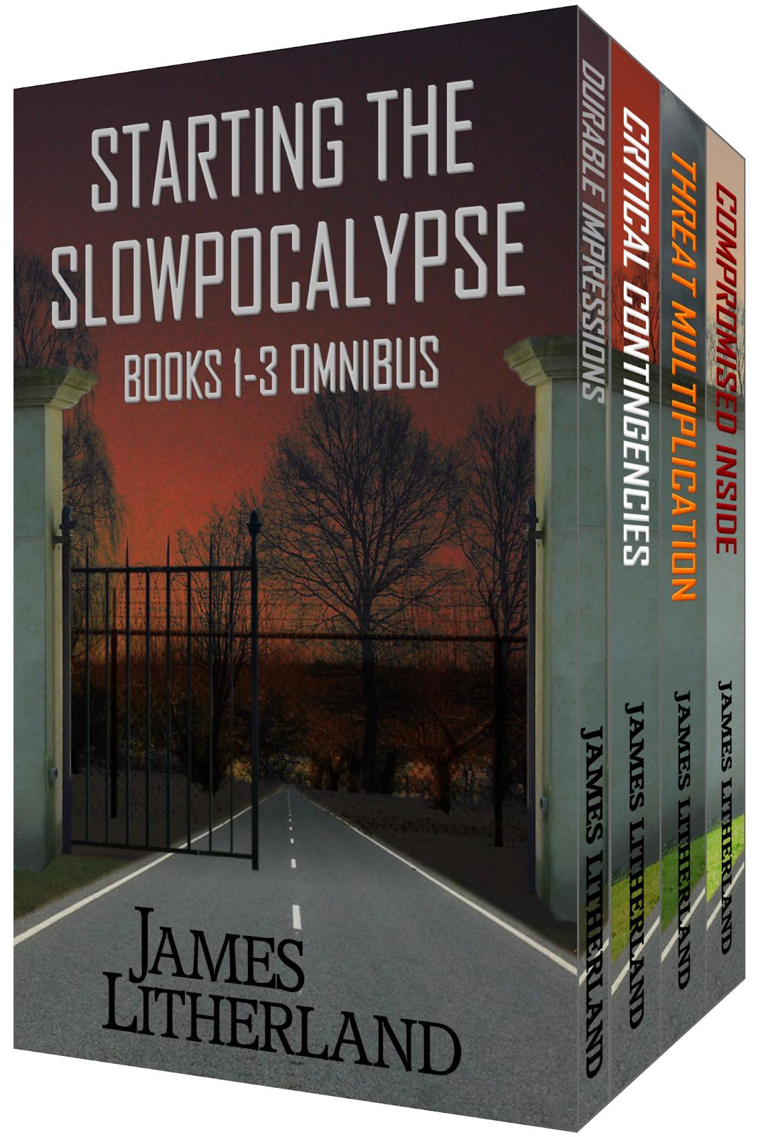 Slowpocalypse Books #1-3 Omnibus edition