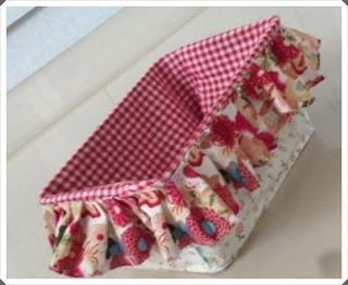 Elişi Çamaşır Sepeti Süsleme Yapımı, Resimli Açıklamalı;