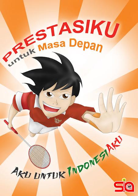 Poster Pendidikan Prestasi Bekal Masa Depan