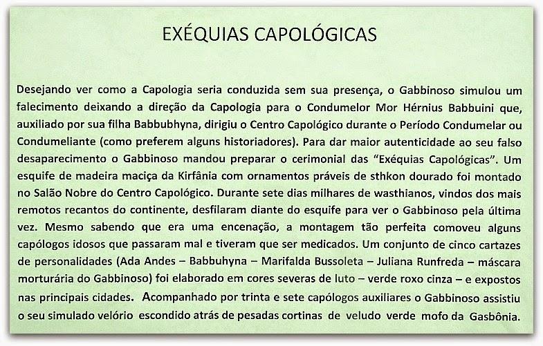 """""""Exéquias Capológicas"""", por Fernando Duval"""