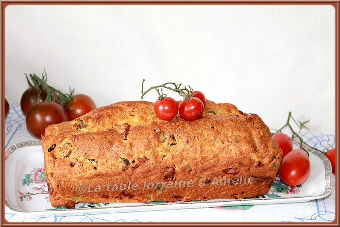 Cake Sal Ef Bf Bd Jambon Olives Thermomix