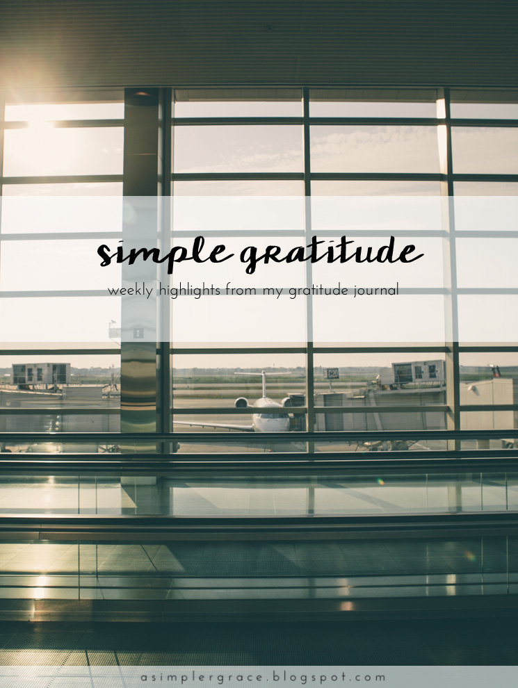 A weekly series focusing on practicing gratitude.  #gratefulheart #gratitude #feelingthankful - Simple Gratitude | 51 - A Simpler Grace
