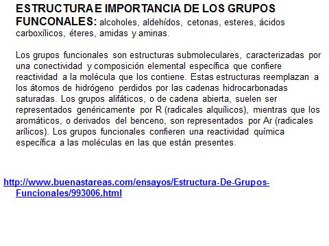 Biomondragon Importancia Estructura De Grupos Funcionales
