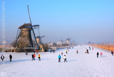 kincir angin belanda Kinderdijk