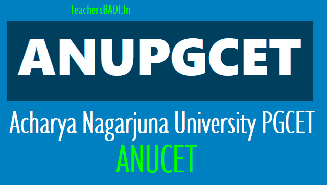 anucet 2019,anupgcet 2019,acharya nagarjuna university pg entrance test 2019,online application from,fee details,last date,entrance exam date,hall tickets,results,counselling dates/schedule