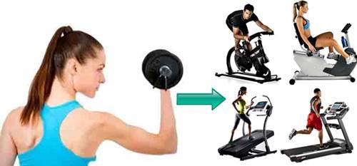 Las pesas y el cardio te permiten adelgazar permitiéndote quemar más grasa corporal