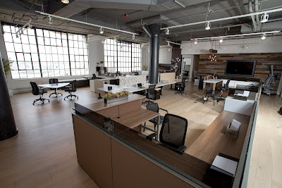 Meja kantor custom
